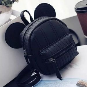 Mickey Mouse Black Backpack. NEW!